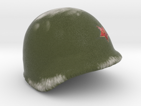 Soviet helmet WWII for lego  in Full Color Sandstone