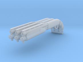 1/25 3-pack 870 shotgun w/taped handgrip in Smooth Fine Detail Plastic