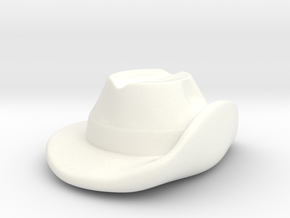 Aussie Slouch Hat in White Processed Versatile Plastic
