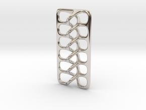 Intertwine pendant in Platinum