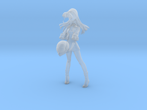 1/24 Sugo Asuka Helmet Pose in Smooth Fine Detail Plastic