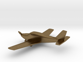 Piper PA-24 Comanche in Natural Bronze: 1:108