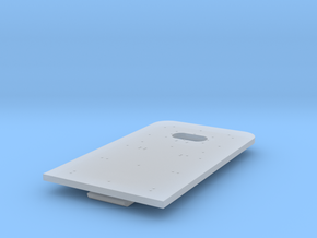 Amtrak Diaphragm Plate in Smoothest Fine Detail Plastic