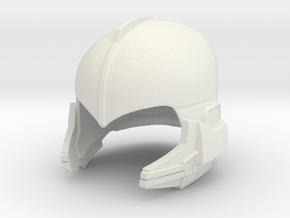 buck rogers helmet 1:6 scale in White Natural Versatile Plastic