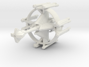 Star Sailers - Ja' Bol jah - Light Cruiser in White Natural Versatile Plastic