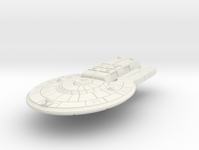 Colonial Light Carrier in White Natural Versatile Plastic