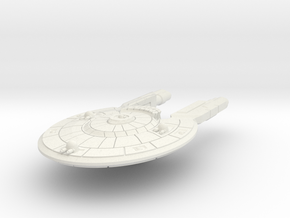 Colonial Corvette Carrier in White Natural Versatile Plastic