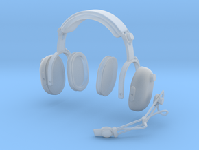 1.6 PILOT HEADSET CLARK in Smooth Fine Detail Plastic