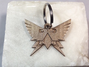 Warhammer Horus Heresy Imperial Keychain Pendant in Stainless Steel
