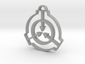 SCP Pendant in Aluminum