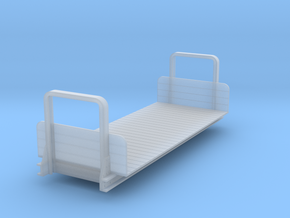 Ödeshög bogie flat - 0e version in Smooth Fine Detail Plastic: 1:45