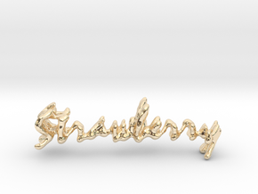 Strawberry Strawberry Necklace in 14K Yellow Gold