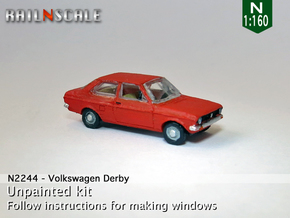 Volkswagen Derby 1 (N 1:160) in Frosted Ultra Detail