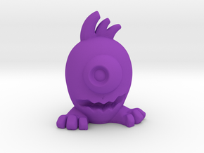 Eggpo, New Guy (PS002) in Purple Strong & Flexible Polished