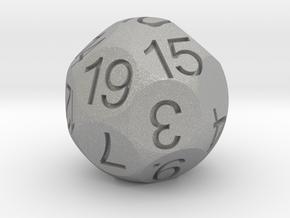 D19 Sphere Dice in Aluminum