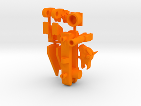 Assault Bison's Power-Up in Orange Processed Versatile Plastic