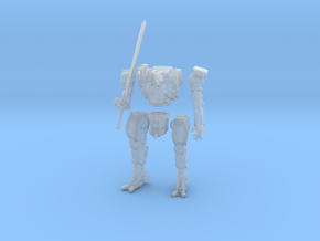 The Memory Knight in Smooth Fine Detail Plastic