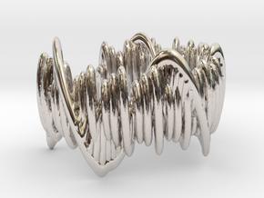 Moonlight Sonata (Ring) in Rhodium Plated Brass: 5 / 49