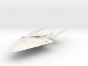 Detroit Class  HvyCruiser in White Natural Versatile Plastic