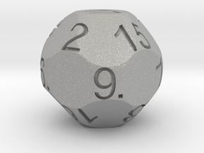 D17 Sphere Dice in Aluminum