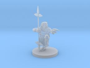 Dwarf Monk / Weaponmaster in Smooth Fine Detail Plastic