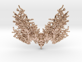 Parametric Necklace v.2 in 14k Rose Gold Plated Brass