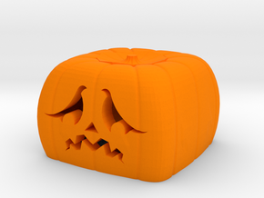 Halloween pumkin keycap 5 - cherry MX in Orange Strong & Flexible Polished