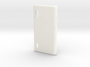 Fairphone Casing in White Processed Versatile Plastic