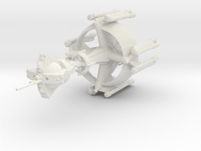Star Sailers - K'Varga B12 - Battleship in White Natural Versatile Plastic