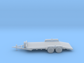 18-Foot Bumperpull Equipment Trailer - Parked in Smooth Fine Detail Plastic