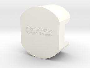 Lense Cover cap for Garmin Virb 360 in White Processed Versatile Plastic