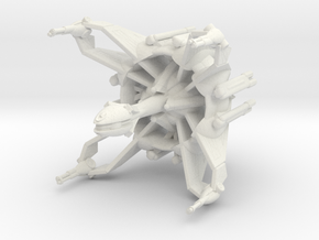 Star Sailers - D'tai - Dreadnaught in White Natural Versatile Plastic