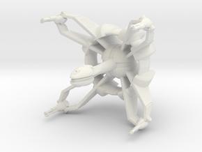 Star Sailers - K'Vort - Cruiser in White Natural Versatile Plastic