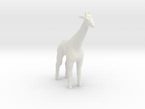 Printle Thing Giraffe - 1/72 in White Natural Versatile Plastic