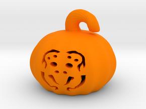 Spider Pumpkin  in Orange Processed Versatile Plastic