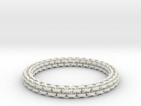 Scoobie Bracelet (New) in White Premium Versatile Plastic