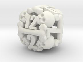 Ossuary d12 in White Premium Strong & Flexible