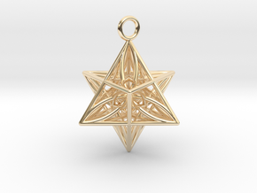 Pendant_Star of Life in 14K Yellow Gold