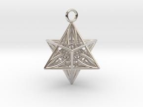 Pendant_Star of Life in Platinum