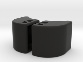 Defender Bumper End Caps in Black Premium Versatile Plastic