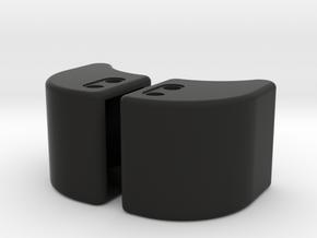 Defender Bumper End Caps in Black Premium Strong & Flexible