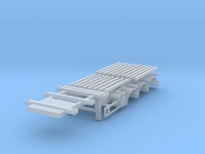 Huttner Holztrailer in Smooth Fine Detail Plastic