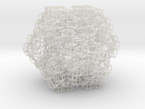 Mengerkochtubed in White Natural Versatile Plastic