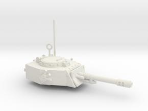 28mm APC turret with autocannon in White Premium Versatile Plastic