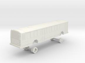 HO Scale Bus Gillig Phantom Capital Metro 1100s in White Strong & Flexible