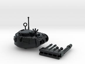 28mm Zerber APC turret + multiple guns in Black Hi-Def Acrylate