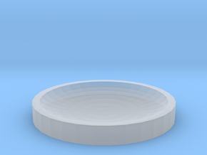 40mm Concave Lens in Smooth Fine Detail Plastic