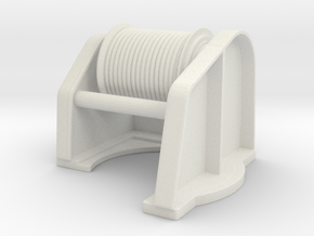 Spudwinch 1-50 in White Natural Versatile Plastic