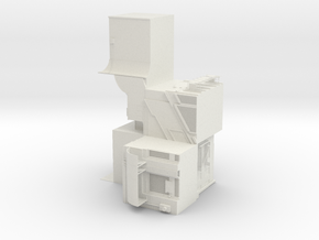 "BK-12: ""As Built - As Lived"" by NEMESTUDIO in White Natural Versatile Plastic"