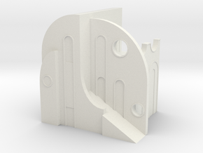 "BK-18: ""Fragment"" by Leigha Dennis in White Natural Versatile Plastic"